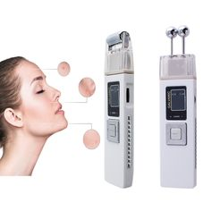 Portable Galvanic Microcurrent Skin Firming Machine Anti -aging Massager Skin Care Spa Salon #Affiliate