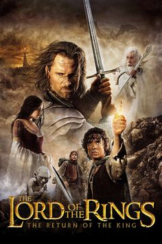 2003 Film: In the conclusion of J.R.R. Tolkien's epic masterpiece, The Lord of the Rings, as armies mass for a final battle that will decide the fate of the world--and powerful, ancient forces of Light and Dark compete to determine the outcome--one member of the Fellowship of the Ring is revealed as the noble heir to the throne of the Kings of Men.