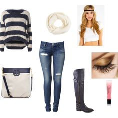 outfit de invierno by miru12 on Polyvore