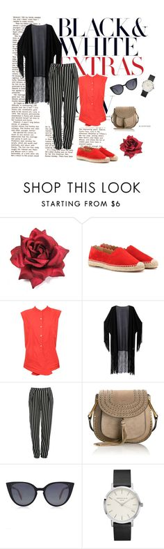 """""""Untitled #2"""" by sabinalisicic ❤ liked on Polyvore featuring Chloé, WithChic, Glamorous and Fendi"""