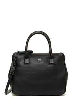 The Milano Leather Satchel is the perfect everyday bag.