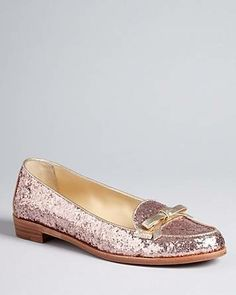 #kate spade new york Glitter Loafer Flats - Cora - All Shoes - Shoes - Shoes - Bloomingdale's