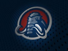 Mammoths logo by Thomas Hatfield, via Behance
