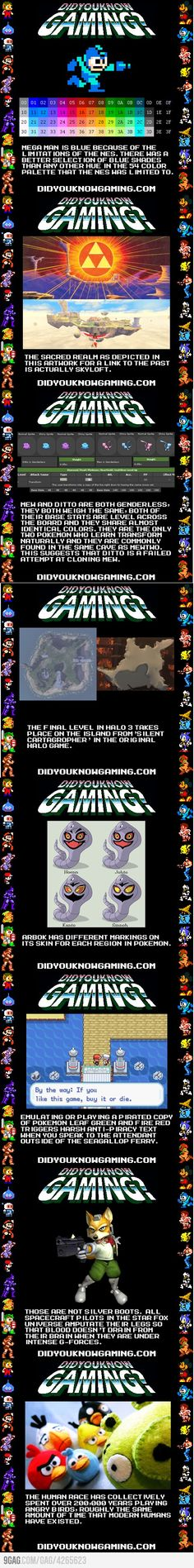Interesting Video Game Facts