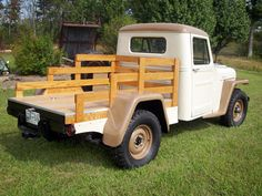 1952 Willys Jeep Pickup - Photo submitted by Dean Junker. Jeep Pickup Truck, Jeep 4x4, Willys Wagon, Jeep Willys, Willis Pickup, Jeep Scout, Jeep Concept, American Classic Cars, Jeep Parts