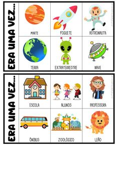 Printable Spring Quiet Book - Activity Book for Pre-K and K Word Family Activities, Educational Activities For Kids, Writing Activities, Portuguese Lessons, Poetry For Kids, Early Reading, Home Schooling, Stories For Kids, Conte