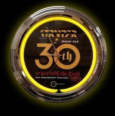 Stryper Neon Clock - 30th Anniversary Edition