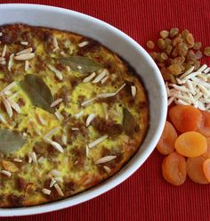 Bobotie (South African Meatloaf Casserole) - The Daring Gourmet Greek Recipes, Real Food Recipes, Yummy Food, Egyptian Food, National Dish, Ground Meat, Different Recipes, Recipe Collection, Dinner Tonight
