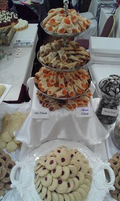 Pittsburgh tradition: The wedding cookie table - Apricot and Nut Kolachi