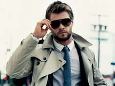 Chris Hemsworth - looking mighty fine.