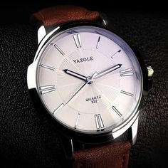 YAZOLE New 2017 Men Watch Top Brand Luxury Famous Male Clock Wrist Watch Casual Fashion Business Quartz-watch Relogio Masculino