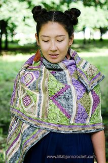 Spirit of Life Wrap CAL 10-18-17  -  Free Pattern to be released