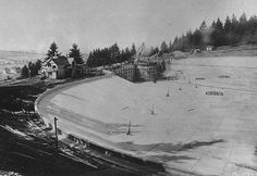 Mt Tabor Resevoir Construction c 1910 Mt Tabor, Oregon