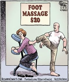 Our foot massage is much better at www.thermae.com
