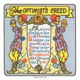 The Optimist's Creed (Mayflower Donuts Original) 1939