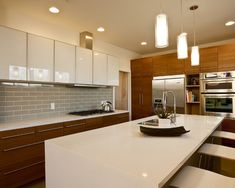 1000 Images About Natural Wood Kitchens On Pinterest Dark Cabinets Cherry Cabinets And White