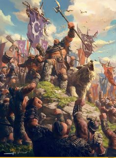 """theamazingdigitalart: """" Children of stone, Orc clans gather at the kosh'harg to create the FIRST HORDE by Stanton Feng World of Warcraft Chronicle Volume 2 """" Dark Fantasy Art, Fantasy Artwork, Fantasy World, World Of Warcraft Orc, Warcraft Art, Fantasy Character Design, Character Art, World Of Warcraft Wallpaper, War Craft"""