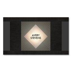 9 best faux gold foil business cards images on pinterest business cool black and gold abstract professional designer business card templates great card for interior designers event planners beauty consultants colourmoves