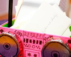 1980s Themed Wedding Details - Wedding Obsessions   The Knot