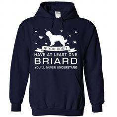 Love Briard T Shirts, Hoodies. Get it now ==► https://www.sunfrog.com/Pets/Love-Briard-2946-NavyBlue-Hoodie.html?57074 $39