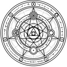 Magic Circle - 4 by white--paper on DeviantArt