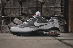 Selling fast. Nike Air Max 94 Grey / Red  http://ift.tt/1Hk5hvh