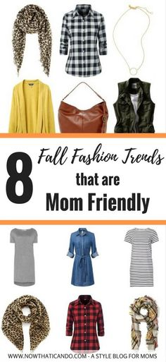 Want to look on-trend this fall while staying comfortable in your mom outfits?…