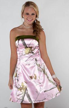 camo bridemaide dresses - Google Search