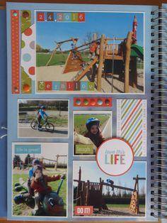 April - Bike trip to the playground Happy Mail, Playground, Life Is Good, Bike, Baseball Cards, Children Playground, Bicycle, Merry Mail, Life Is Beautiful