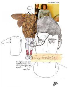 Fashion Portfolio - illustration & final design; fashion design board layouts; fashion sketchbook // Joseph Turvey