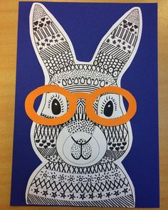 Funky Easter Bunny Craft Template Teaching Resource Teaching Resource: A fun Easter craft activity using an Easter bunny with funky glasses. The post Funky Easter Bunny Craft Template Teaching Resource appeared first on School Ideas. Easter Craft Activities, Easter Art, Bunny Crafts, Easter Crafts For Kids, Easter Decor, Easter Eggs, Lapin Art, Funky Glasses, Diy Ostern