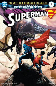 #Superman (2016) #8 #DC @dccomics (Cover Artist: Doug Mahnke, Jaime Mendoza & Wil Quintana) Release Date: 10/5/2016