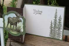 My Tanglewood Cottage: A Walk Dowm Memory Lane -  Walk In the Wild, Fancy Fold Stampin' Up!
