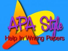 APA Format for Title Page and Cover Page
