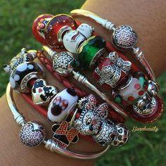 Pandora Christmas and Disney.