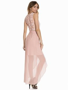 Maxi Lace Cross Front