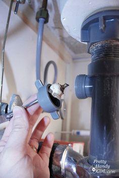 washing machine & utility sink drain pipe install (photo