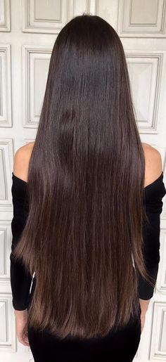 Beautiful Long Hair, Amazing Hair, Gorgeous Women, Open Hairstyles, Straight Hairstyles, Hair Art, My Hair, Very Long Hair, Silky Hair