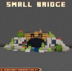 Minecraft Bridges, Minecraft House Plans, Minecraft Cottage, Easy Minecraft Houses, Minecraft House Designs, Minecraft Decorations, Minecraft Survival, Minecraft Tips, Minecraft Tutorial