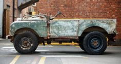 Land Rover Series I Before