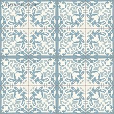 Cement Tile Shop. 8x8. $5.80 / tile. Coordinating solid color tile $4.20 / tile.