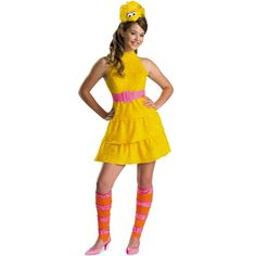 Costume Store - Big Bird (Sesame Street) Teen Costumes. I know what i am being for Halloween:P maybe