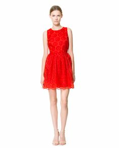 FANTASY FABRIC DRESS - Dresses - Woman - New collection | ZARA United States