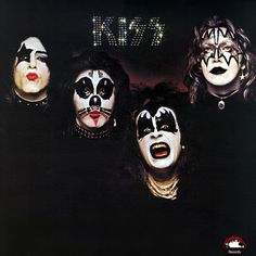KISS - Kiss 1974 First Album Cover...Took less than a month to produce but a masterpiece