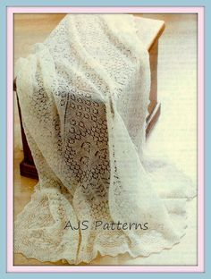 PDF-Knitting Pattern für schöne Shetland Lace von TheKnittingSheep