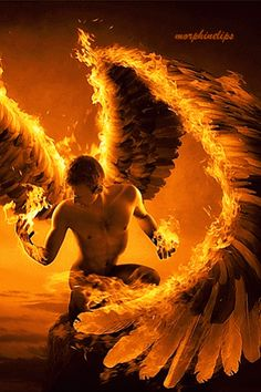 "wolfdancer: ""The archangel of fire is Michael. """