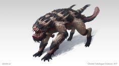 Wohrgnaal - creature design by Cloister on DeviantArt