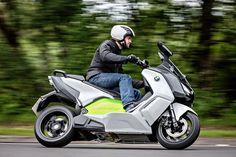 BMW Motorrad unveils its C evolution electric scooter