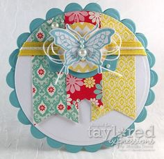 Let Your Dreams. by Monika Davis Fun Fold Cards, Folded Cards, Cute Cards, Diy Cards, Images Vintage, Shaped Cards, Candy Cards, Butterfly Cards, Copics