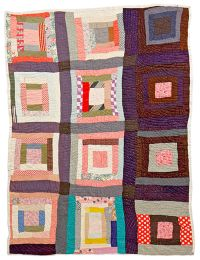 House Top Quilt. Mississippi, 1920s.